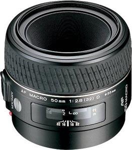 Minolta 50mm f/2.8 D Macro