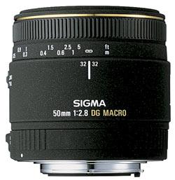 Sigma 50mm f/2.8 DG macro