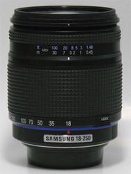 Samsung D-Xenon 18-250mm lens