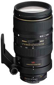 Nikon AF-VR 80-400mm f/4.5-5.6D ED
