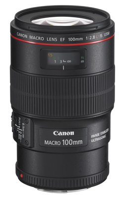 Canon EF 100mm f/2.8L Macro IS lens
