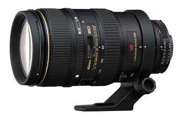 Nikon 80-400mm f/4.5-5.6D ED VR AF Nikkor