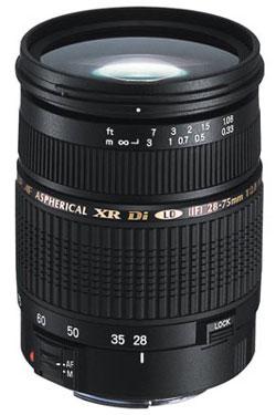 Tamron 28-75mm f/2.8 XR Di LD Aspherical IF Macro Main image