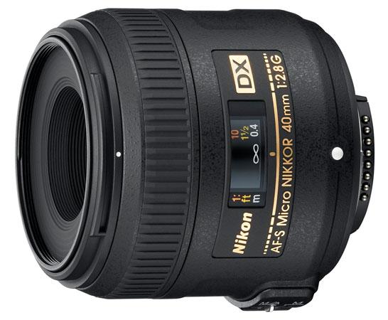 40mm DX-Format Macro Lens