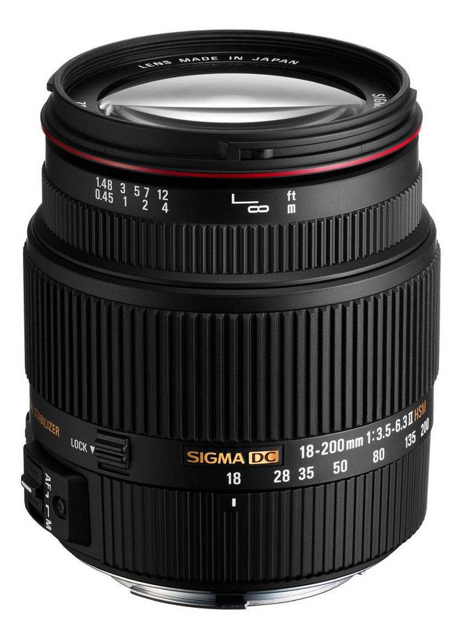 18-200mm f/3.5-6.3 II DC OS HSM