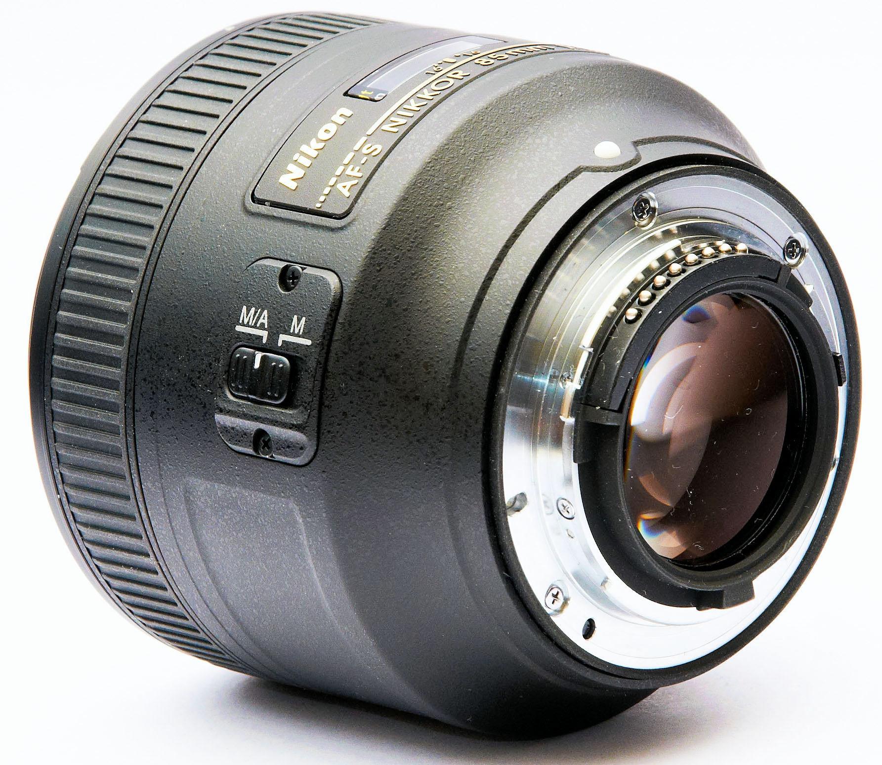 Nikon d vs g lenses