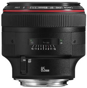 Canon 85mm f/1.2