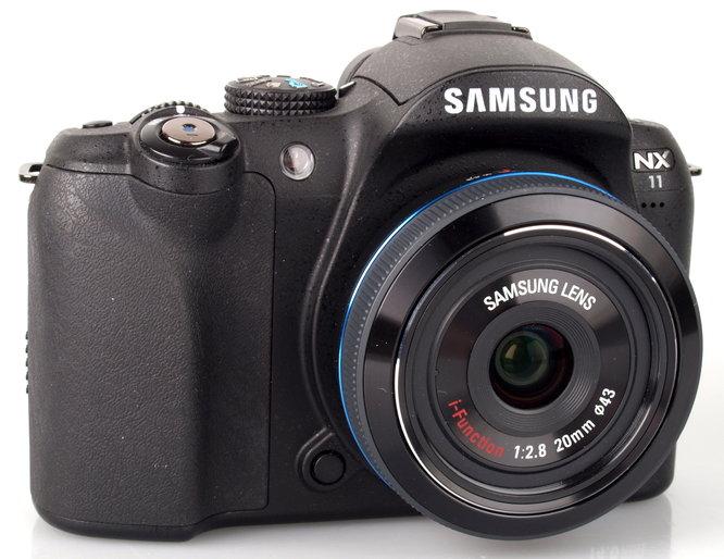 Samsung 20mm f/2.8 NX iFunction Pancake