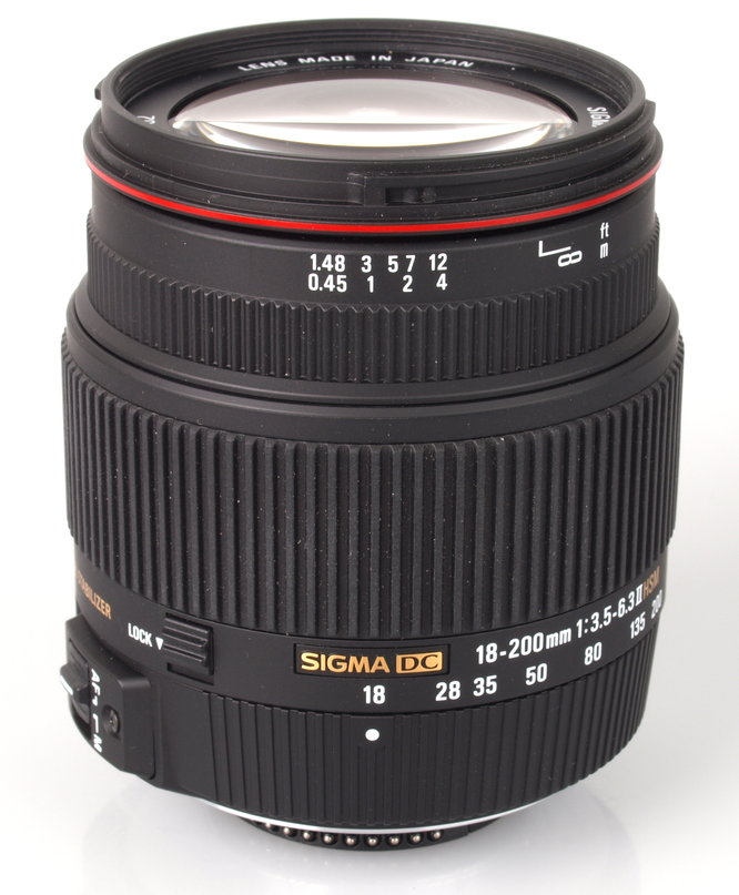 Sigma 18-200mm f/3.5-6.3 II DC OS HSM