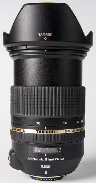 Tamron 24-70mm VC - upright