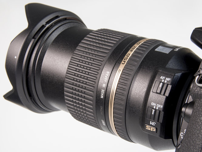 Tamron 24-70mm VC - on/off Switch