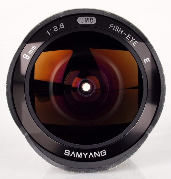 Samyang 8mm f/2.8 ED AS IF UMC Fisheye