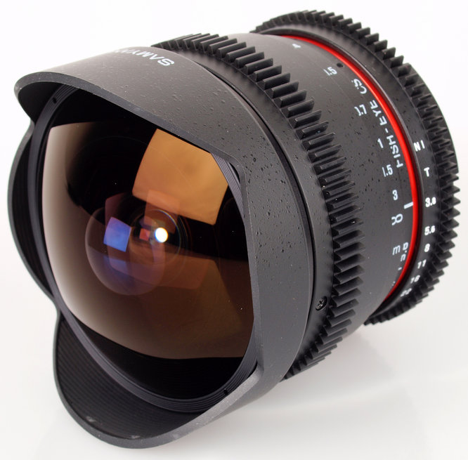 Samyang 8mm T3.8 Diagonal Fisheye