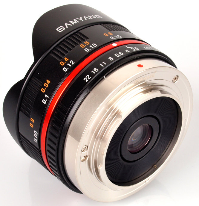 Samyang 7.5mm f/3.5 UMC Fisheye Lens