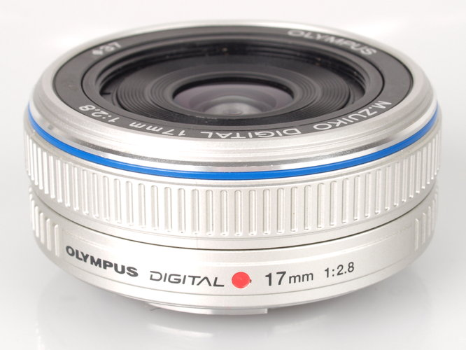 Olympus M Zuiko 17mm Pancake Micro Four Thirds Lens