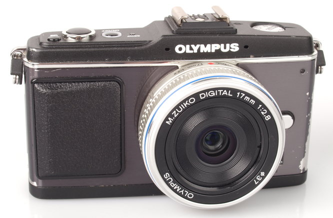 Olympus M Zuiko 17mm Pancake Micro Four Thirds Lens With Olympus Pen EP2