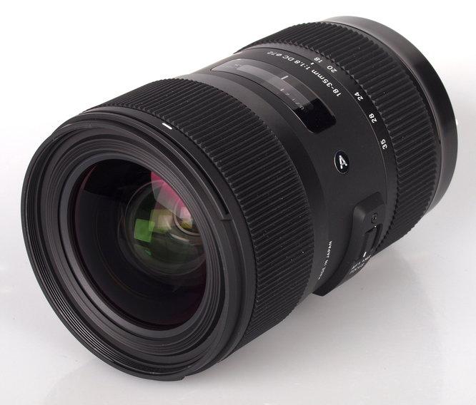Sigma 18 35 F18 Dc A Lens (2)