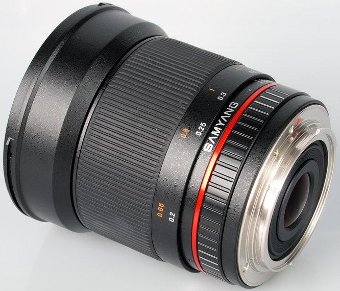 Samyang 16mm F 2 4