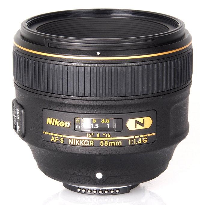 Nikon Nikkor AF S 58mm F1 4G (3)
