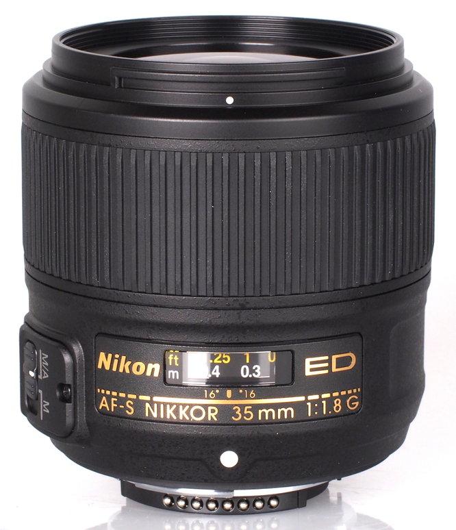 Nikon AF-S NIKKOR 35mm f/1.8G Ed Lens (1)