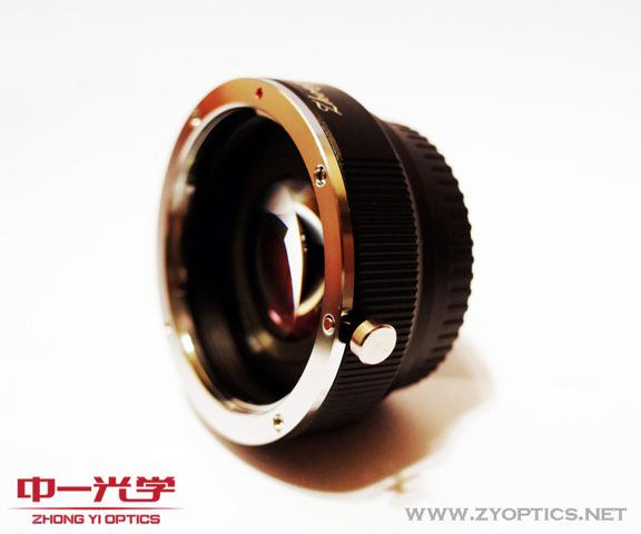 Canon EF-Fuji X Lens turbo adapter