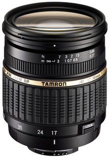 Tamron SP AF 17-50mm F2.8 XR Di ll LD Aspherical (IF)