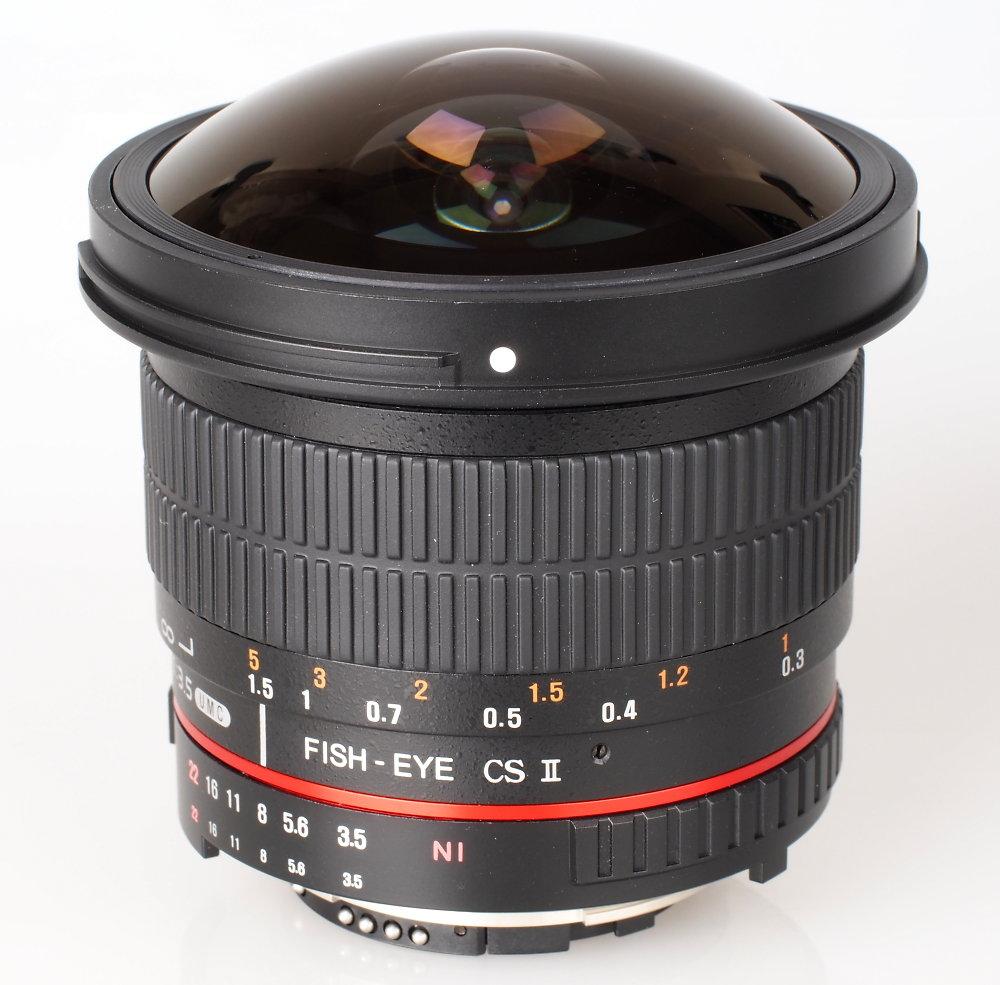 8mm f/3.5 UMC Fish-eye CS II