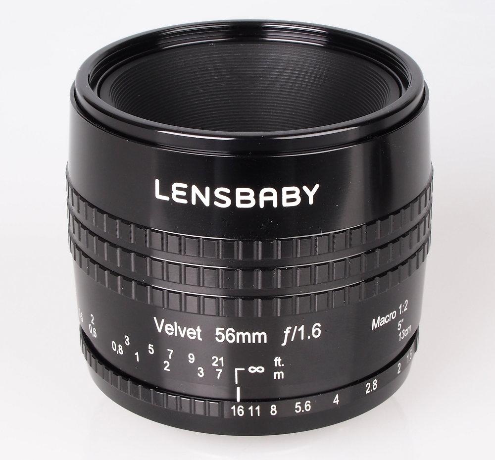 Lensbaby Velvet 56mm F1 6 Black (1)