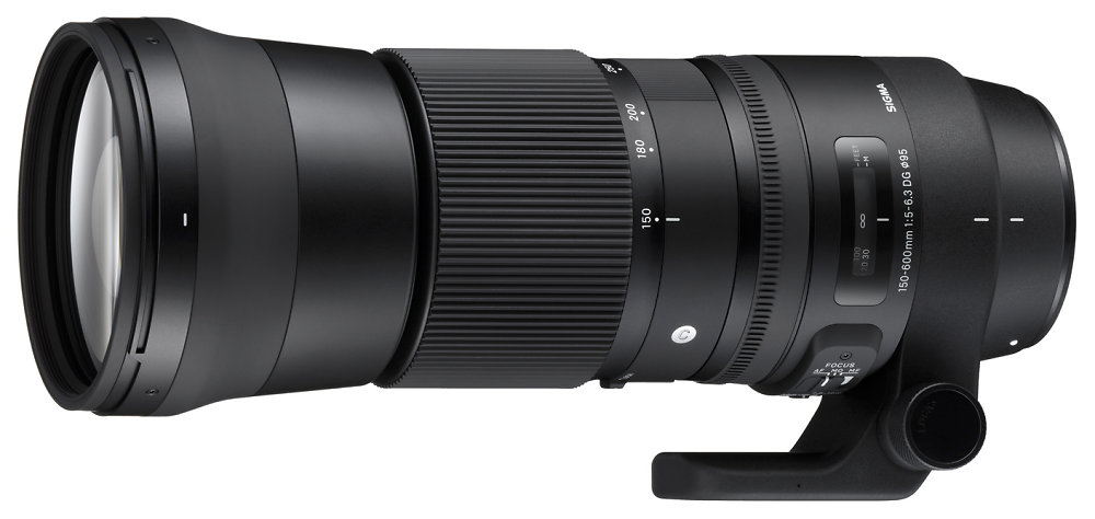 Sigma 150 600mm F5 63 Dg Os Hsm C Lens Side