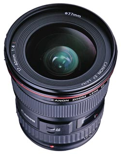 Canon 17-40mm f/4