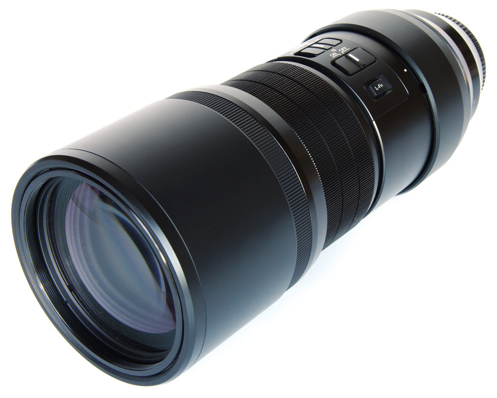 Olympus 300mm F4 Oblique Front
