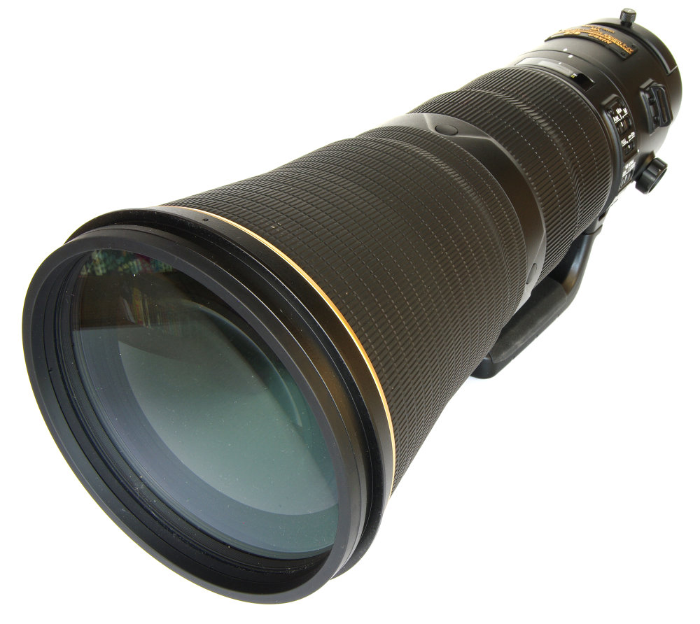 Nikkor 600mm Front Oblique View
