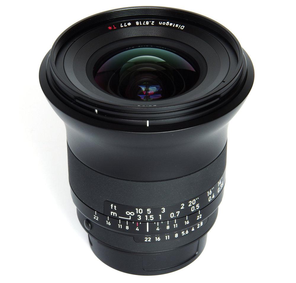 Zeiss Milvus 18mm F2,8 Vertical View