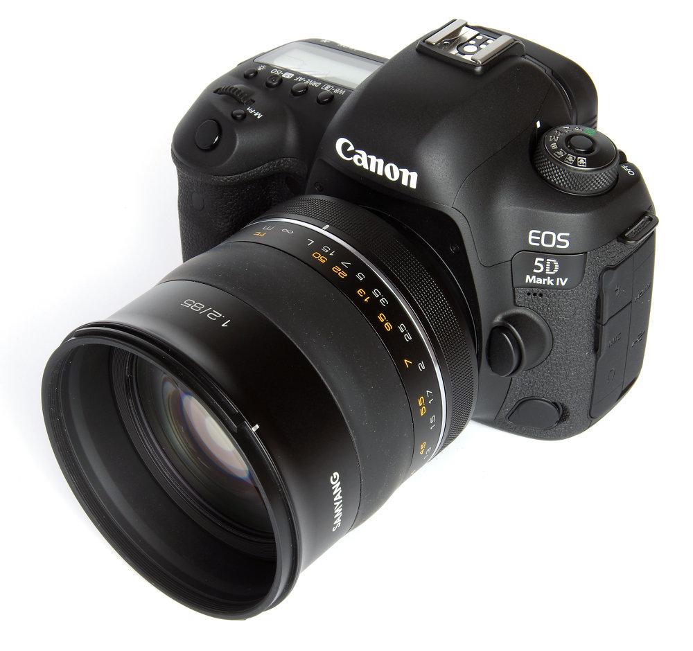 Samyang 85mm F1,2 On Canon 5d Mark IV