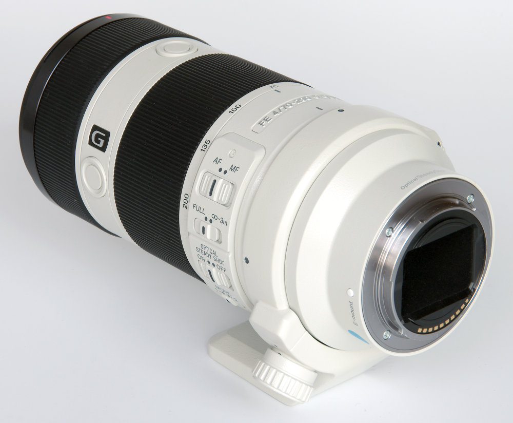 Sony Fe G 70 200mm F4 Rear Oblique View