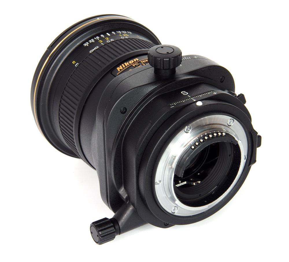 Pc Nikkor 19mm F4 Rear Oblique View