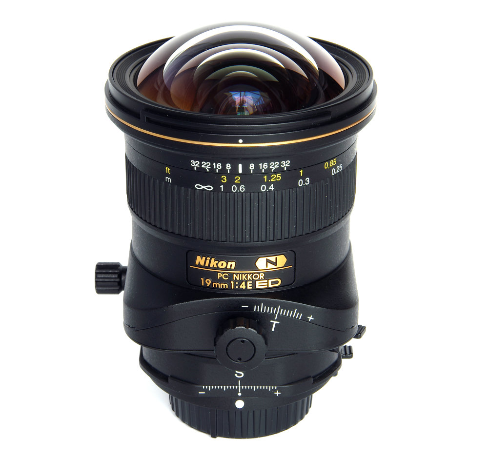 Pc Nikkor 19mm F4 Vertical View