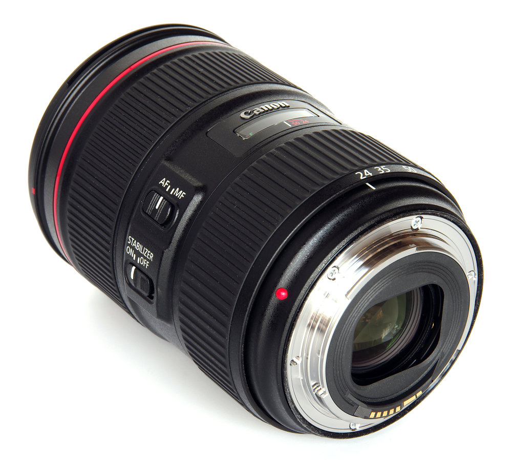 Canon Ef 24 105mm F4l Is Ii Usm Rear Oblique View