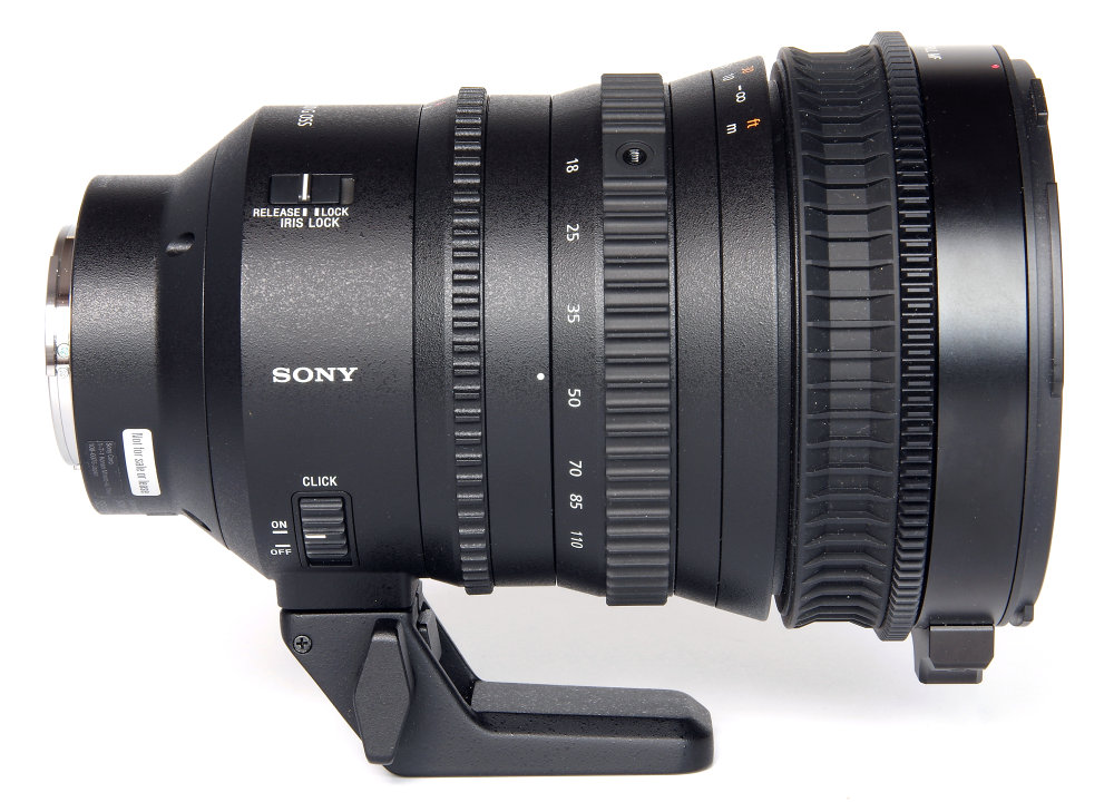 Sony E Pz 18 110mm F4 Right Side View