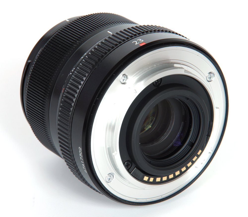 Fujinon Xf 23mm F2 Rear Oblique View