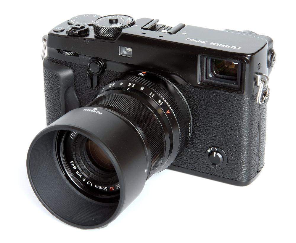 Fujinon Xf 50mm F2 With Hood On X Pro2