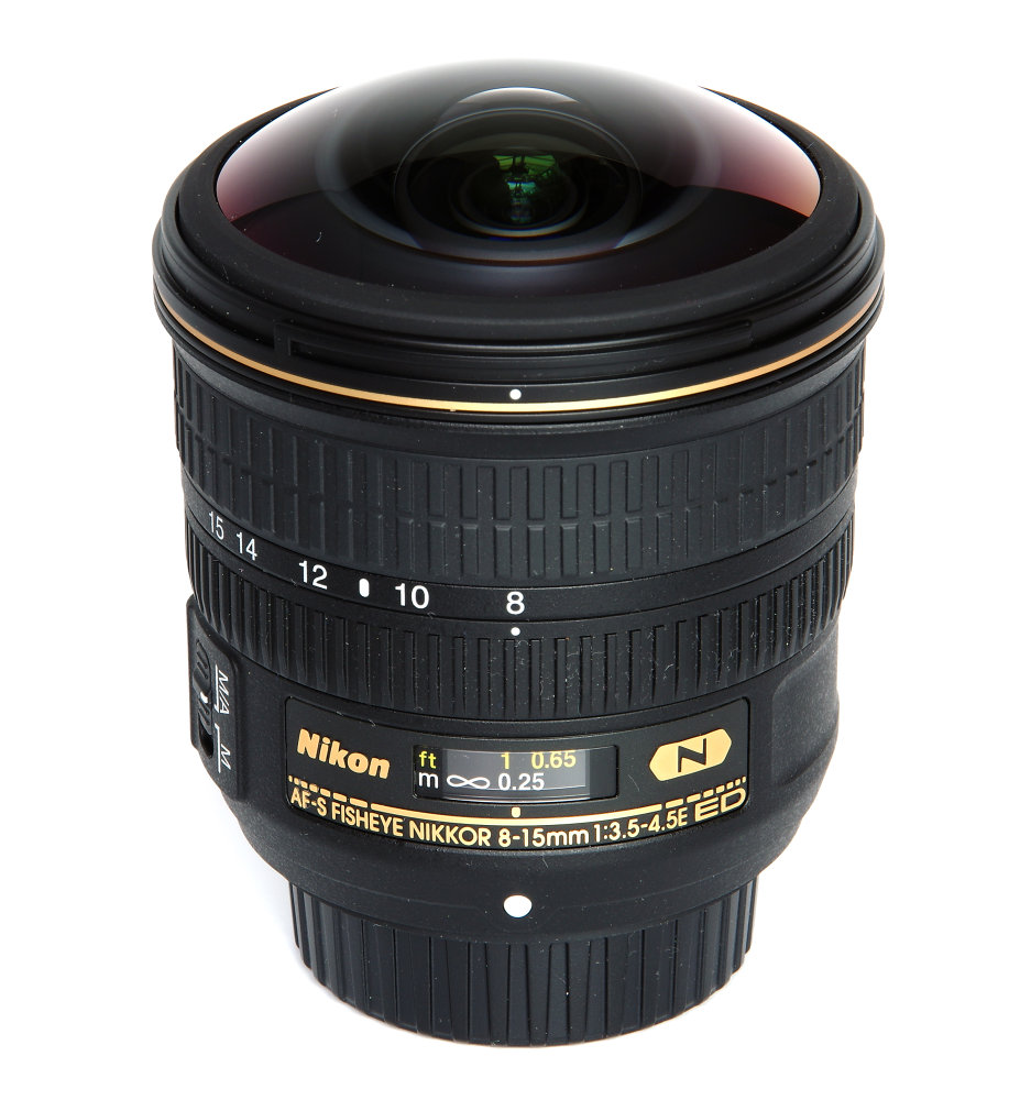 Nikkor 8 15mm Vertical View