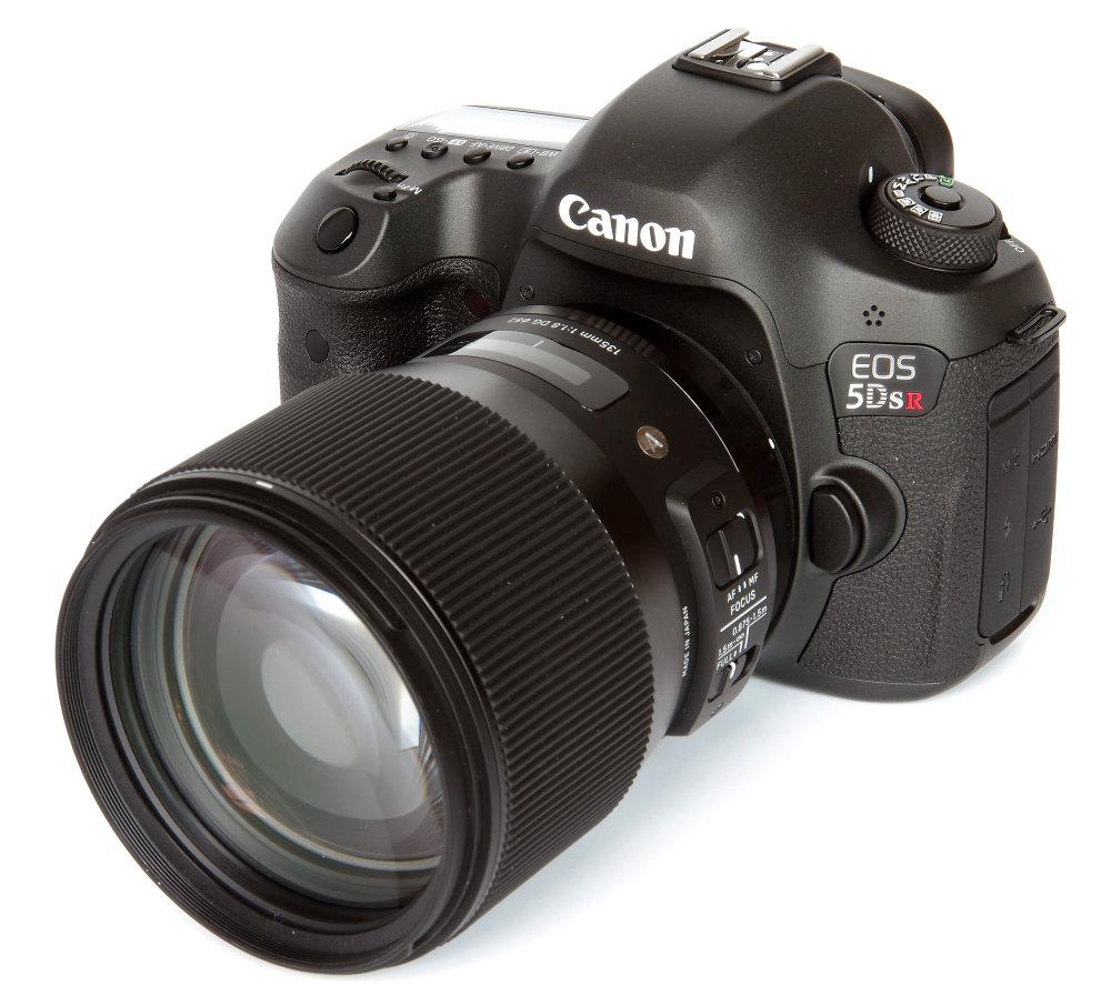Sigma 135mm F1,8 Art On Canon 5d Sr