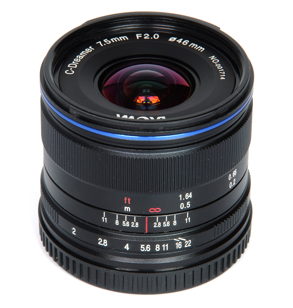Laowa 7,5mm F2 Vertical View