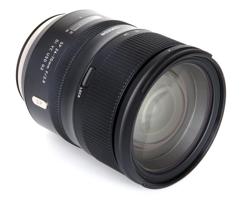 Tamron 24 70mm G2 Front Oblique View