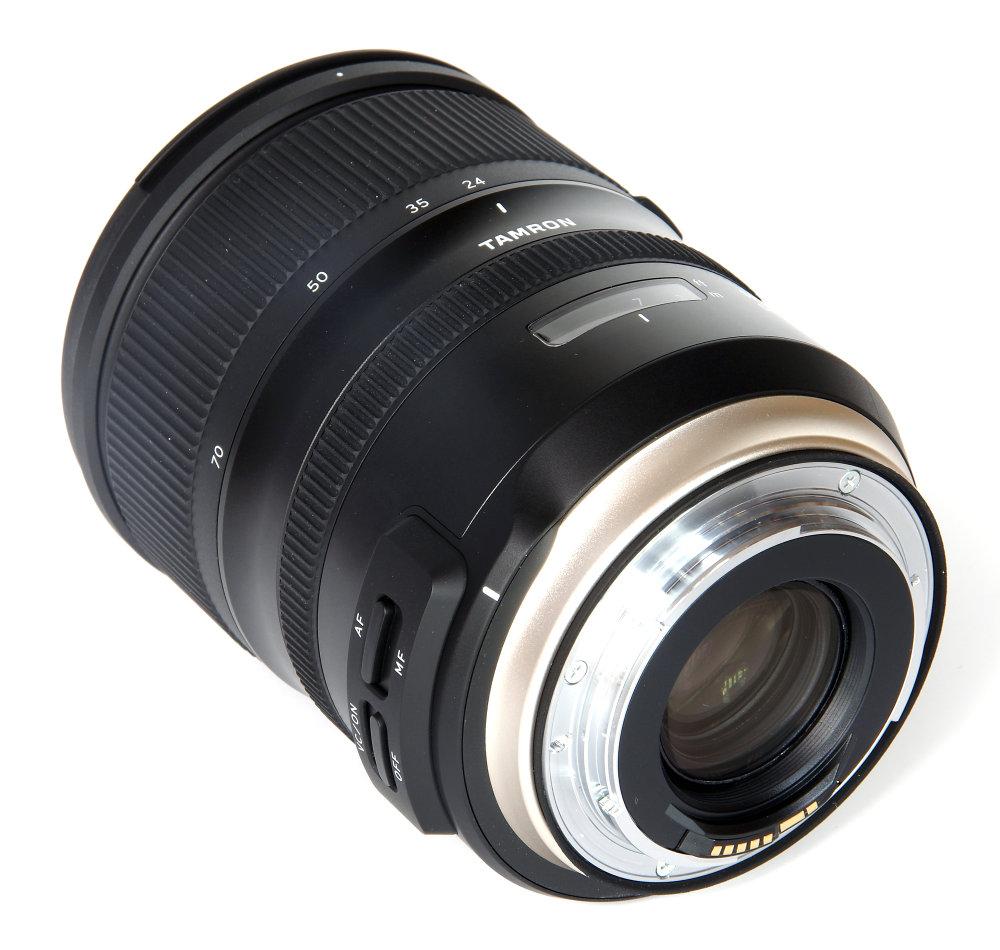 Tamron 24 70mm G2 Rear Oblique View