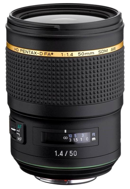 Pentax Da 50mm F1 4 Aw V
