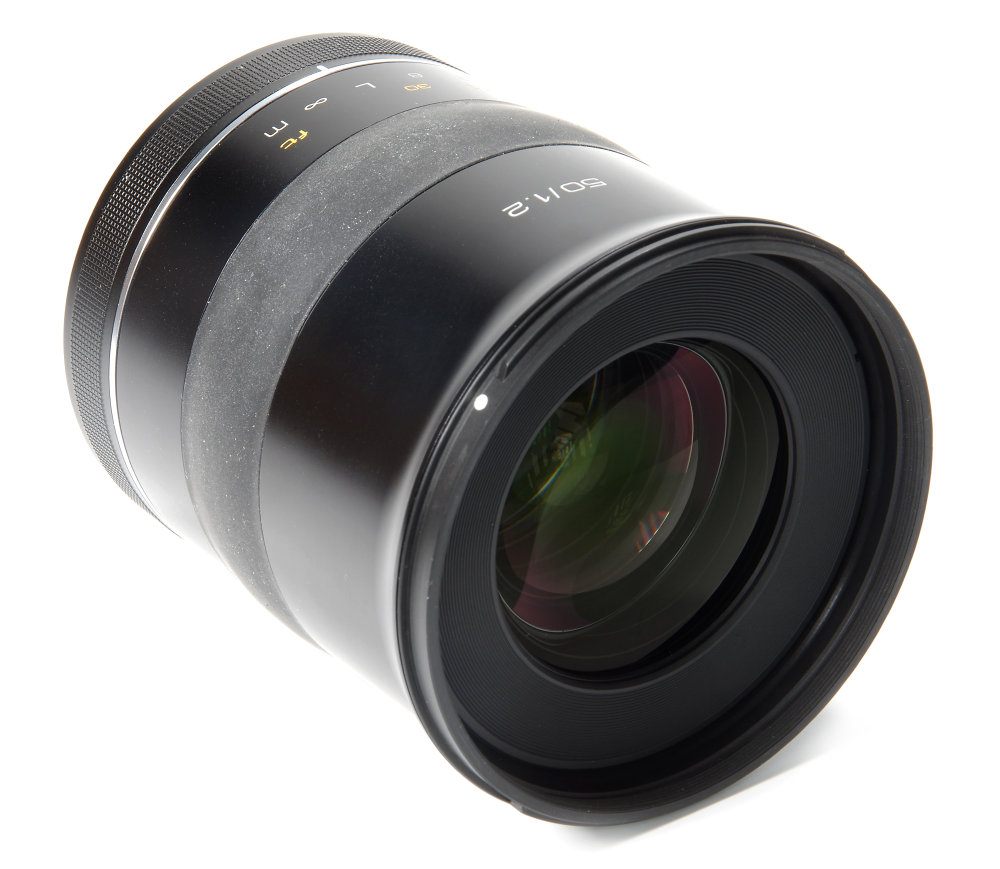 Samyang Xp 50mm F1,2 Front Oblique View