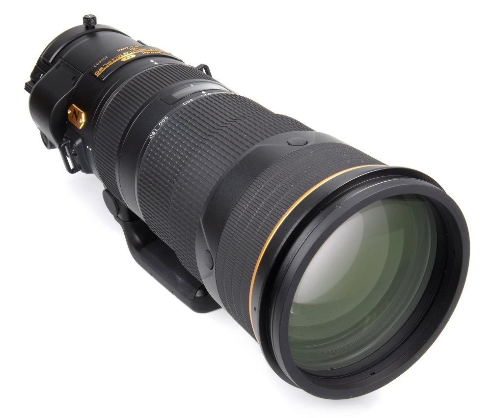 Nikkor 180 400mm F4e Front Oblique View