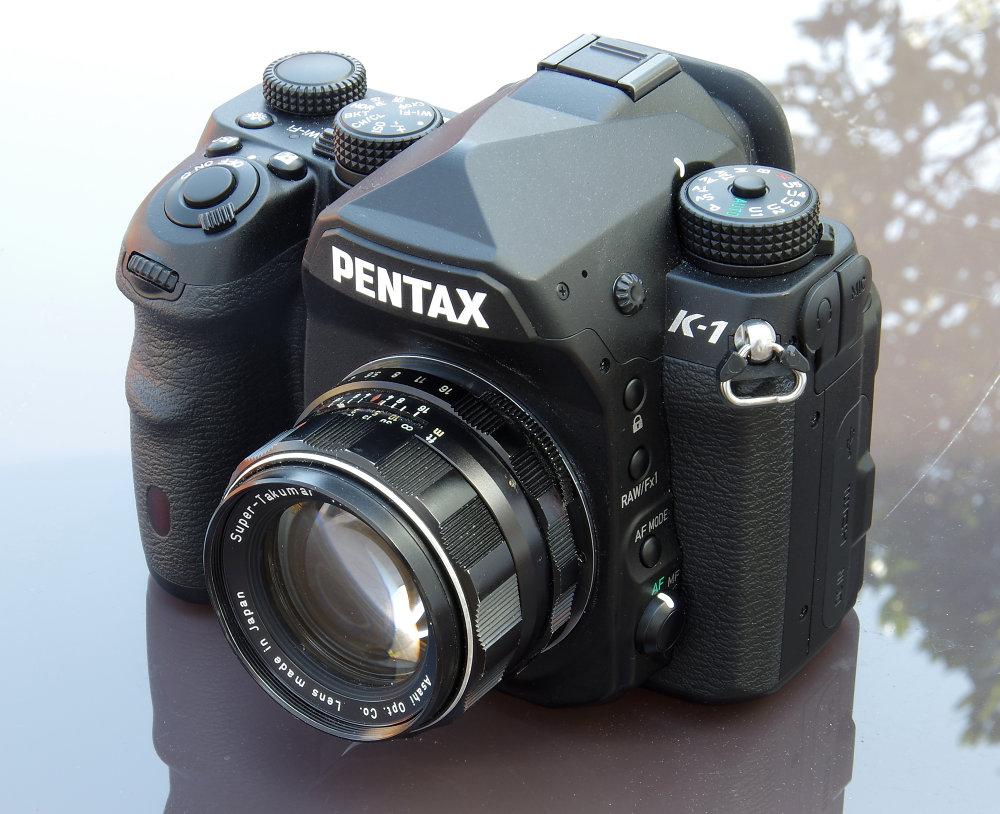 Super Takumar 50mm F1,4 8 Element On Pentax K 1